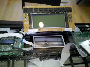 Juno-G Center Board and LCD Display